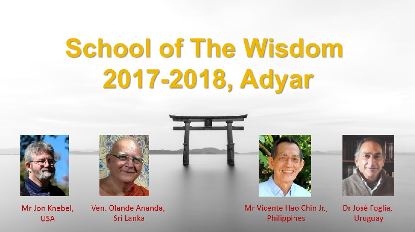 Good News from the School of the Wisdom 2 SOW 2017-18 1