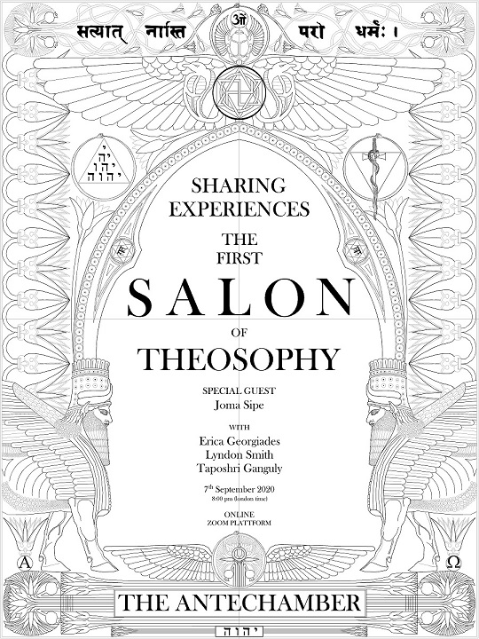Public Eye JS 320 3 The First Salon Of Theosophy The Antechamber Drawing